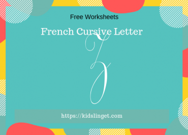 French cursive capital letter Z